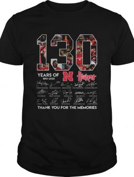 130 years 1890 2020 thank you for the memories shirt