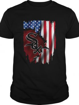 American Flag MLB Chicago White Sox shirt