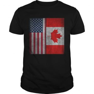 Canadian American Usa Canada Flag 4th Of July  Unisex