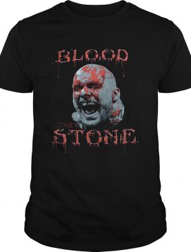 Cold Steve Austin Bloody Face blood from a stone shirt