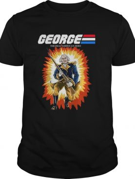 George Frank The Real American Hero Premium Tshirt