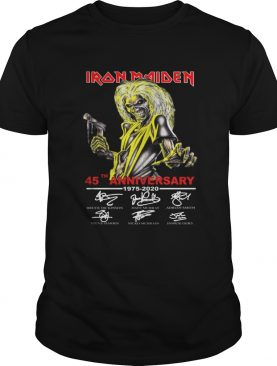 Iron Maiden 45th Anniversary 1975 2020 shirt