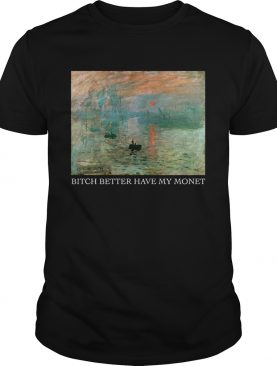 Lever du Soleil Claude Monet bitch better have my Monet shirt
