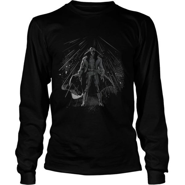 Marvel Spiderman Into The Spiderverse Noir Peter Shirt LongSleeve