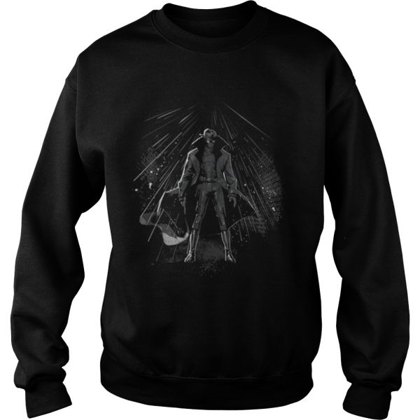 Marvel Spiderman Into The Spiderverse Noir Peter Shirt Sweatshirt