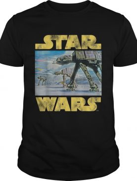 Nice Star Wars Vintage Imperial ATAT Battle of Hoth shirt