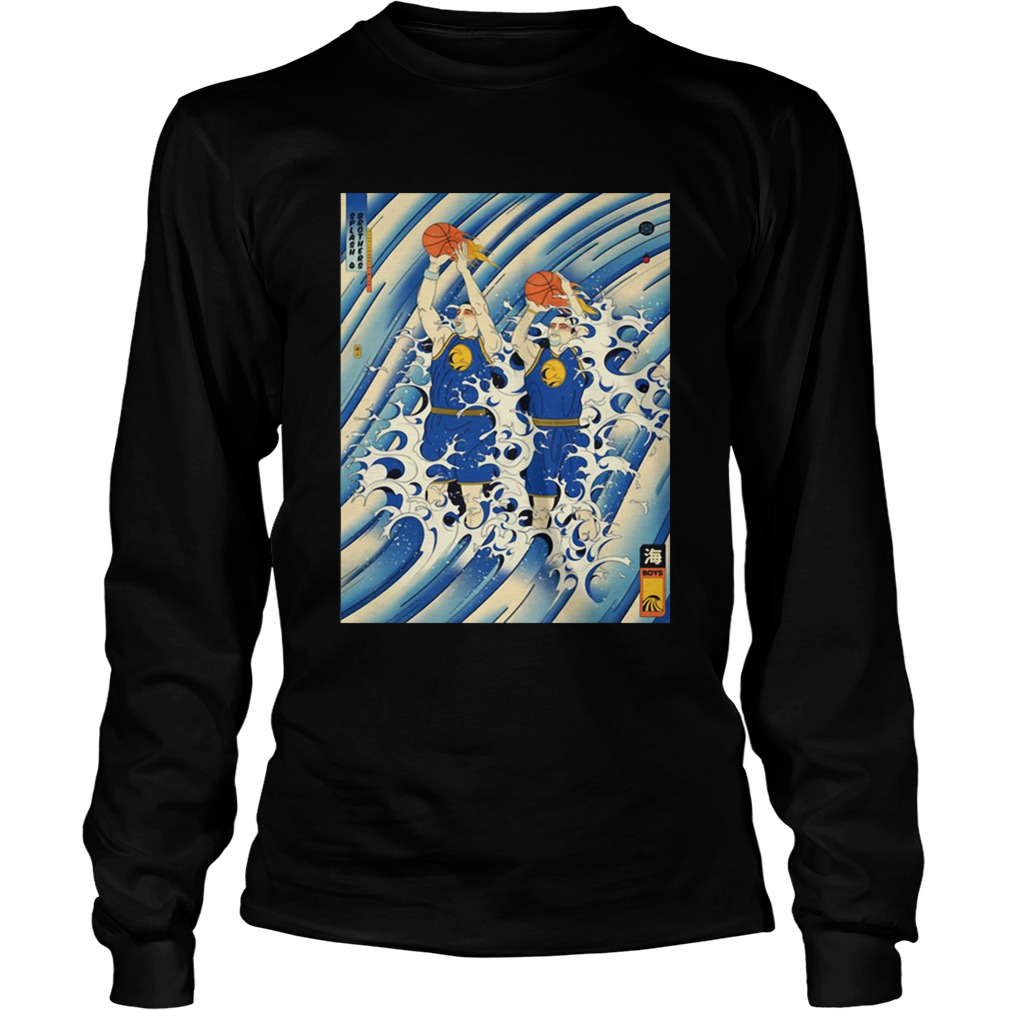 Steph Curry and Klay Thompson Splash Brothers LongSleeve