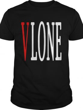 Vlone red V shirt
