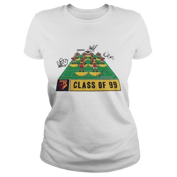 Watford Football Club class of 99 signature  Classic Ladies