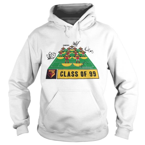 Watford Football Club class of 99 signature  Hoodie