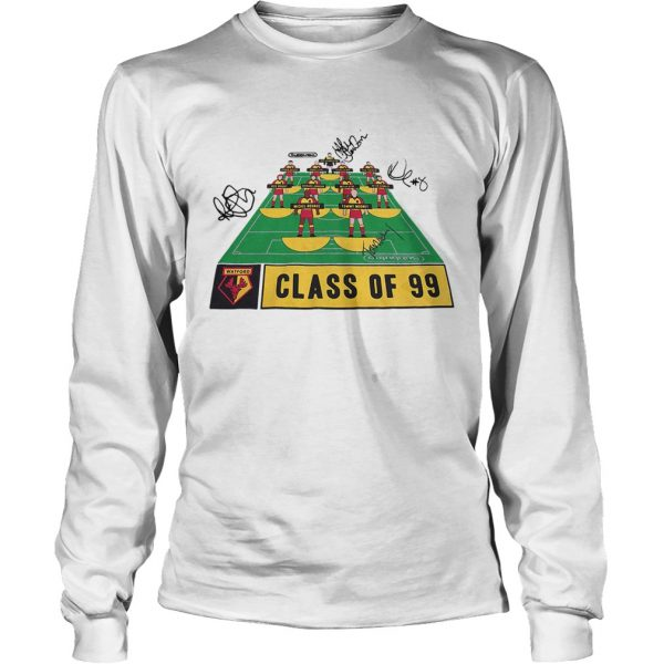Watford Football Club class of 99 signature  LongSleeve