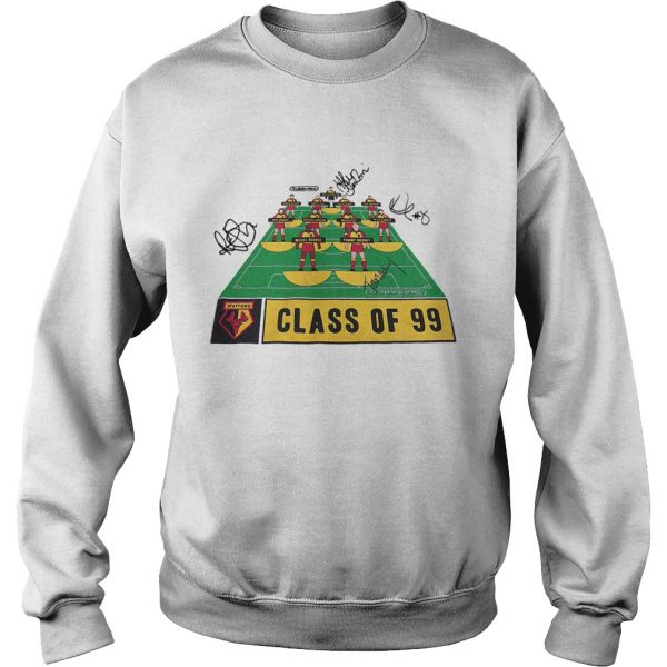 Watford Football Club class of 99 signature  Sweatshirt
