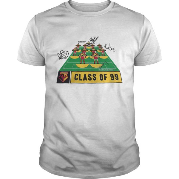 Watford Football Club class of 99 signature  Unisex
