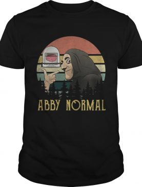 Abby Normal Young Frankenstein retro shirt