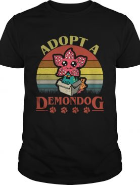 Adopt a Demondog Stranger Things vintage shirt