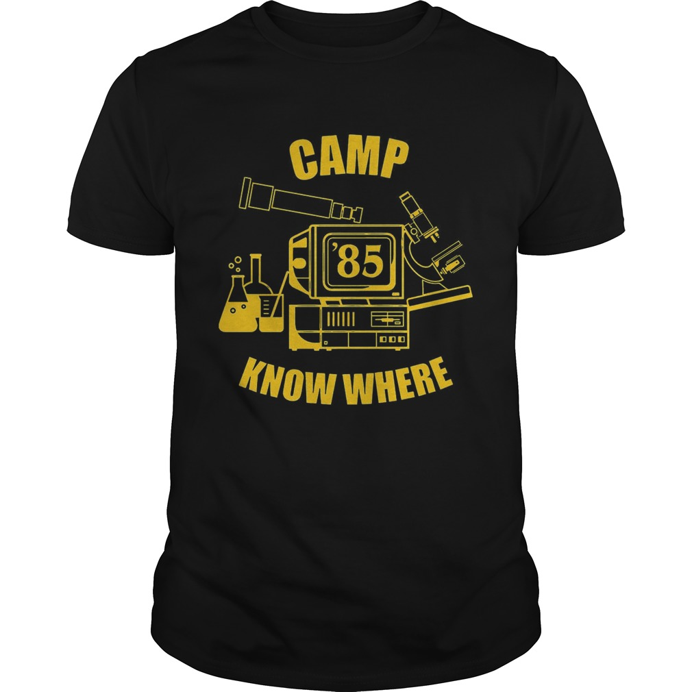 6c11082a03b0 Camp know where Stranger things shirt - Cheap T shirts Store Online ...