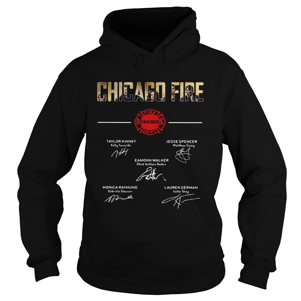 Chicago fire signature  Hoodie