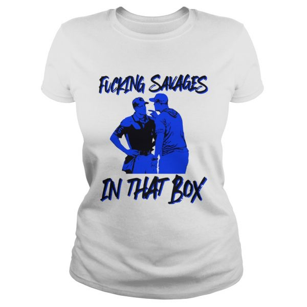 Fucking Savages in that box Aaron Boone  Classic Ladies