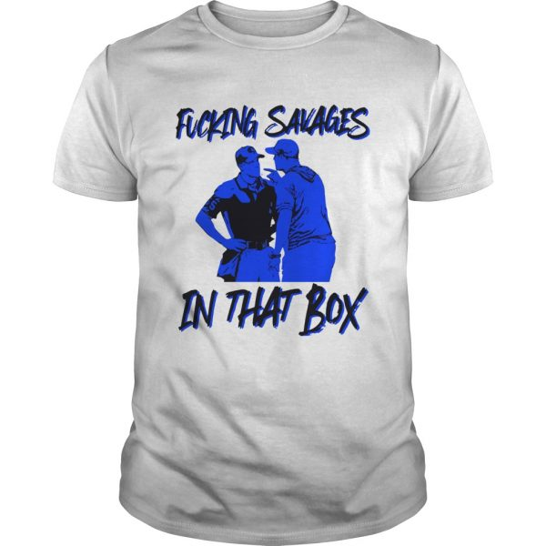 Fucking Savages in that box Aaron Boone  Unisex