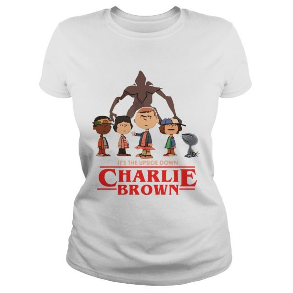 Its the upside down Charlie Brown Stranger Things  Classic Ladies