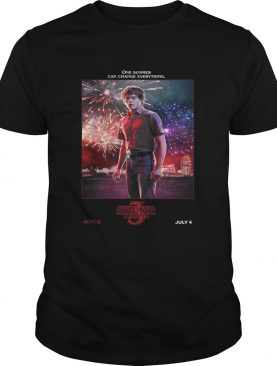 Jonathan Byers One Summer Can Change Everything Stranger Things shirt