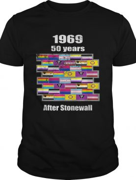Lgbtq 1969 50 Years After Stonewall Vintage Style shirt