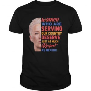 Megan Rapinoe women who are serving out country deserve just as much respect as men do  Unisex