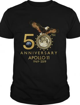 NASA 50 anniversary Apollo 11 1969 2019 Neil Armstrong shirt