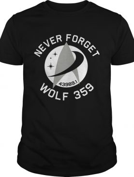 Never Forget Wolf 359 shirt