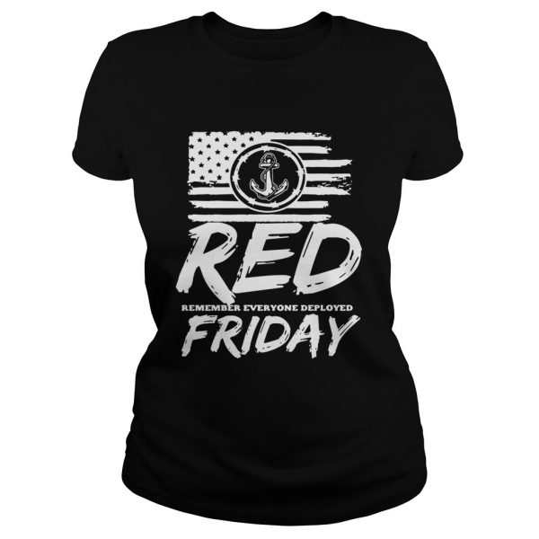 Red remember everyone deployed Friday  Classic Ladies