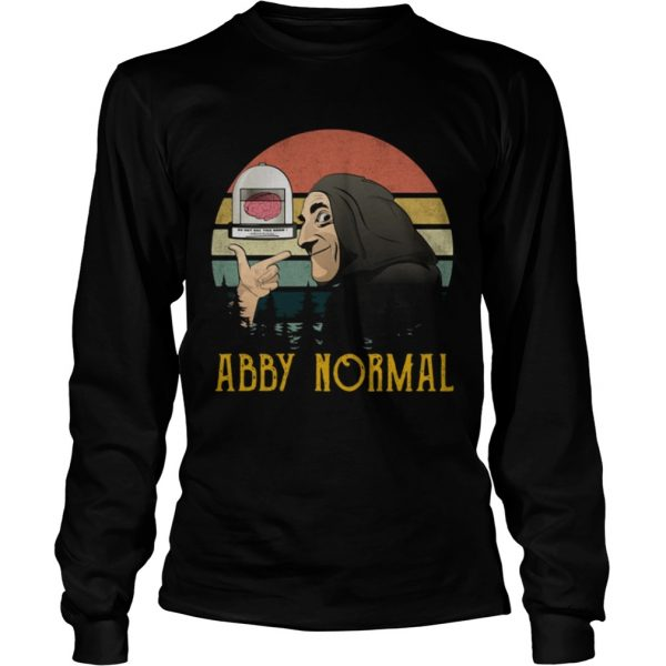 Retro sunset Abnormal Abby normal  LongSleeve