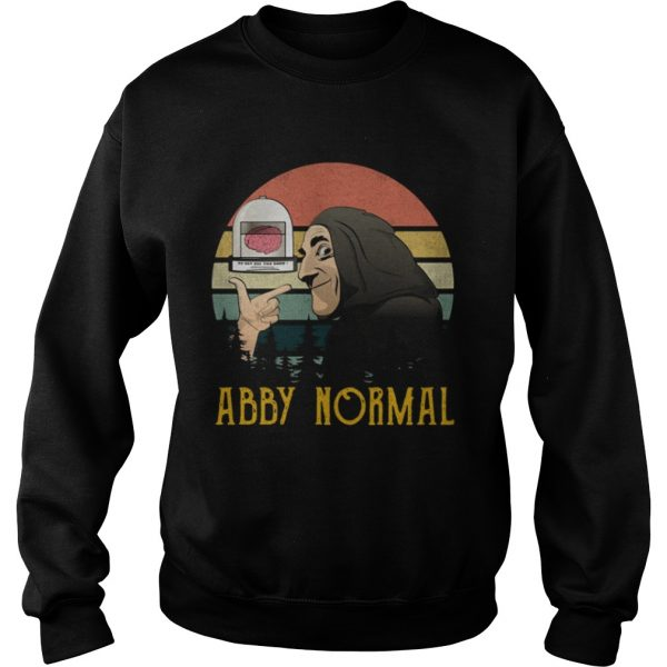 Retro sunset Abnormal Abby normal  Sweatshirt