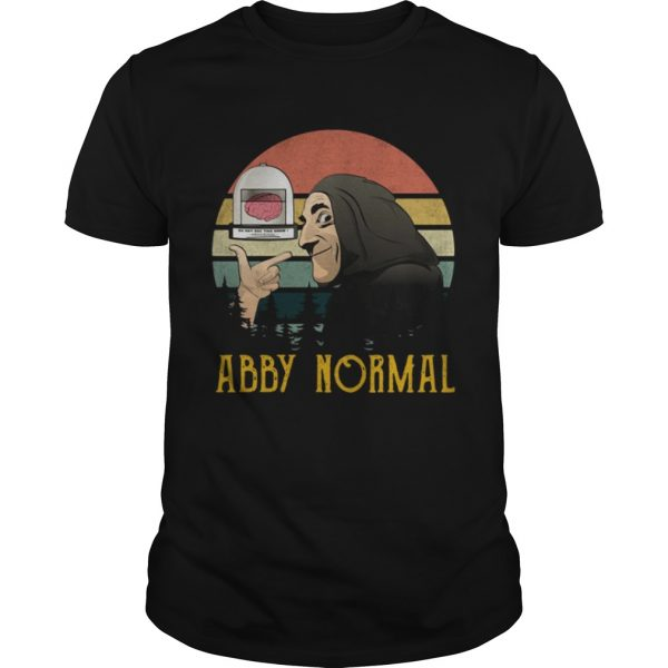 Retro sunset Abnormal Abby normal  Unisex