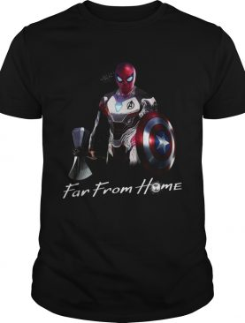 Spider Man far from home shirt