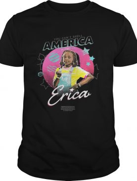 Stranger Things 3 Erica You cant spell America without shirt
