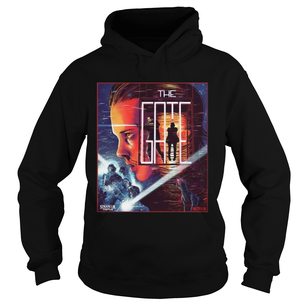 Stranger Things 3 close the gate Hoodie