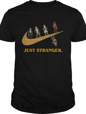 Stranger Things Nike Just Stranger shirt