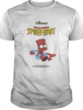 The Avengers featuring the amazing Spider Bart shirt