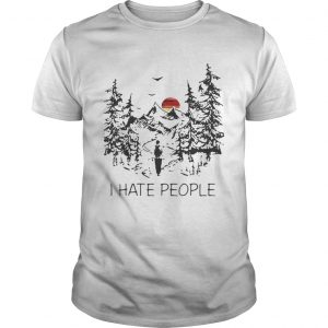Top I hate people camp  Unisex