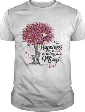 Tree happiness is being a mimi shirt