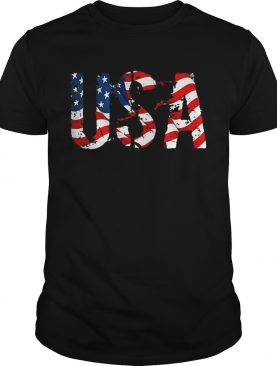 USA American Flag Independence Day shirt