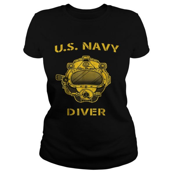 Us Navy Diver Back Only  Classic Ladies