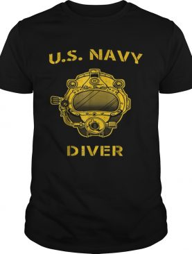 Us Navy Diver Back Only shirt