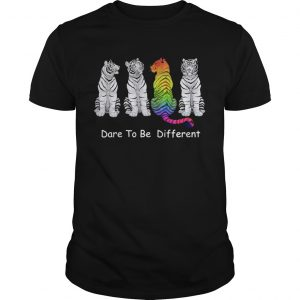 4 Tigers dare to be different LGBT  Unisex