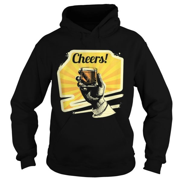 Awesome Cheers Whiskey  Hoodie