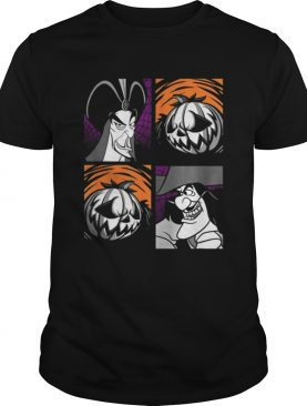 Beautiful Disney Halloween Villains shirt