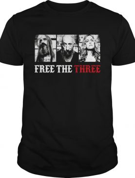 Free The Three Rob Zombie shirt