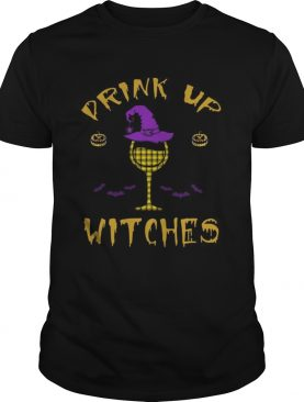 Happy Halloween Drink Up Witches Wine Lover TShirt