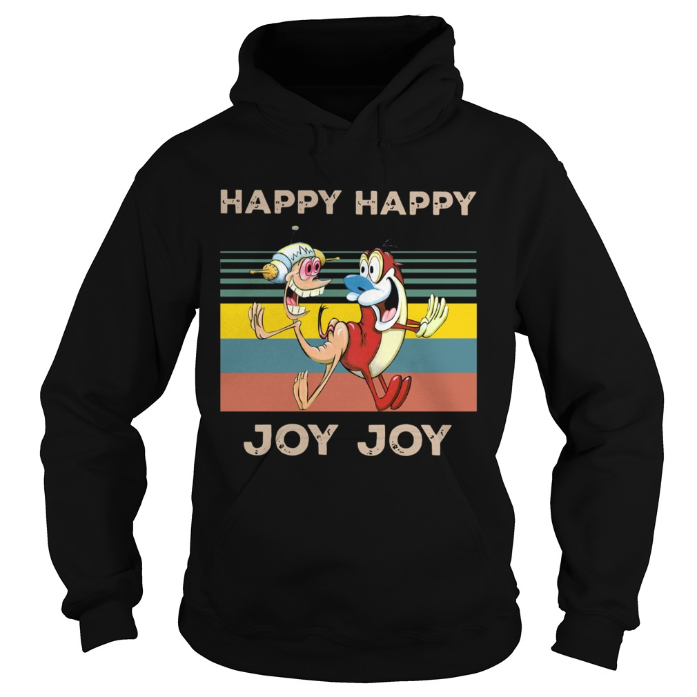 Happy Happy Joy Joy Mighty Fine Ren and Stimpy vintage  Hoodie