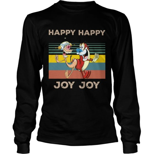 Happy Happy Joy Joy Mighty Fine Ren and Stimpy vintage  LongSleeve